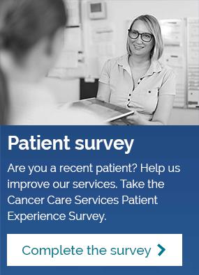 Cancer Care Services Patient Experience Survey