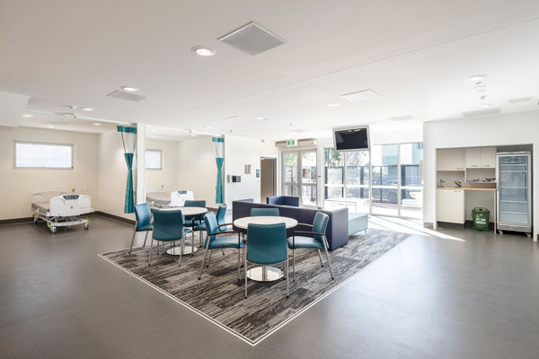 Mental Health Short Stay Unit Lounge and dining area