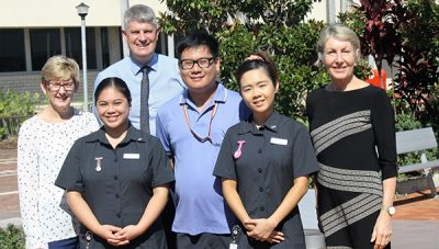 Brighton welcomes new nurse graduates