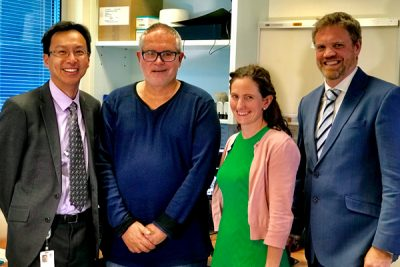 RBWH patient Chris Harrison received life changing Deep Brain Stimulation treatment