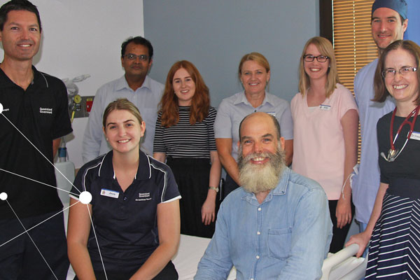 Image of Dr Jack Bell and the multidisciplinary research team