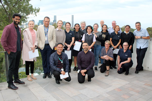Oral Health Centre Values in Action Staff Awards winners