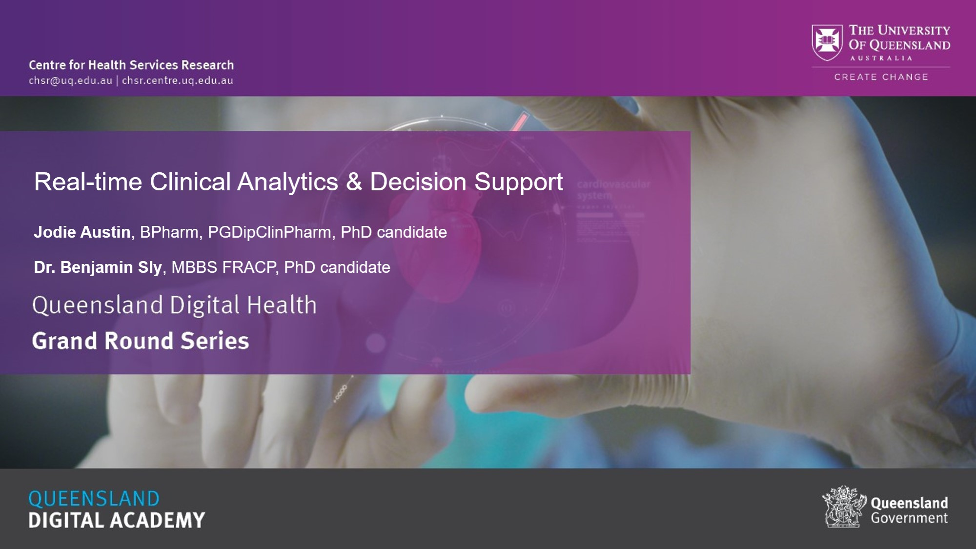 Real-time Clinical Analytics & Decision Support