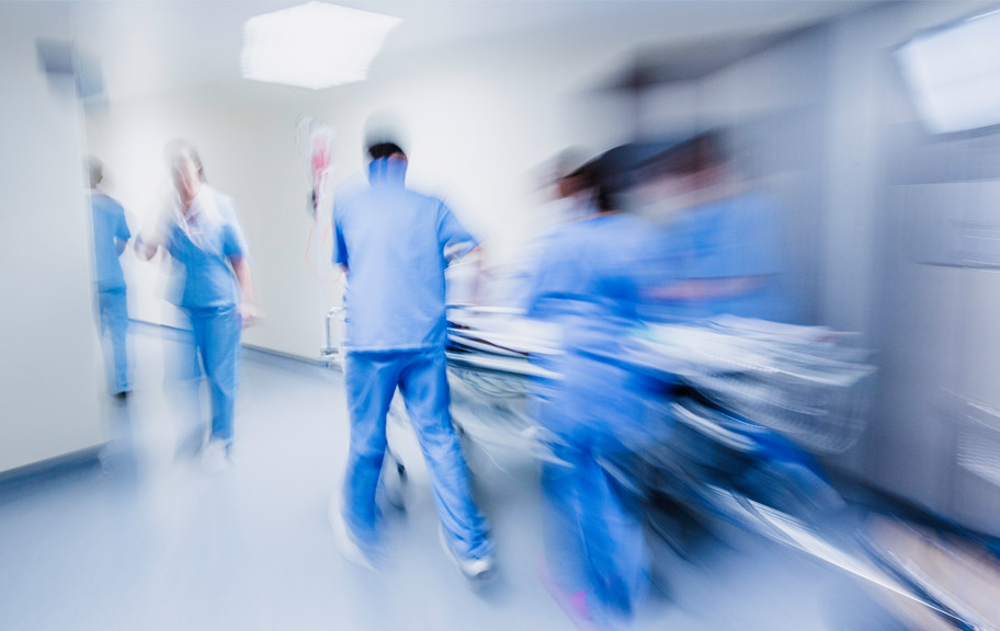 Emergency trauma department