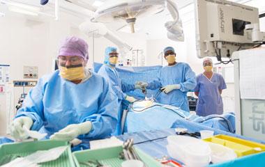 Surgery at RBWH