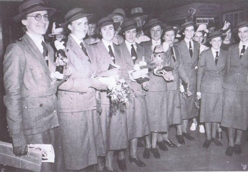1940 Wartime nurses