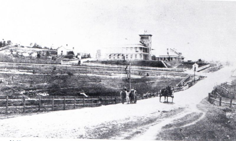 1867 horses and carts