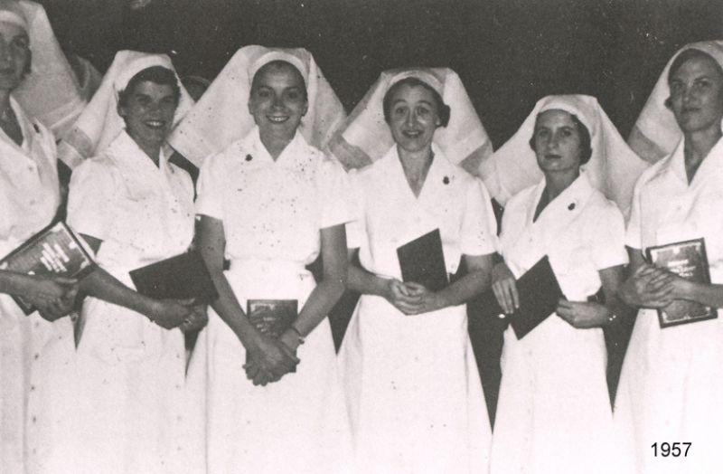 1957 nurse graduates