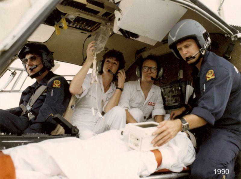 1990 patient in helicoptor