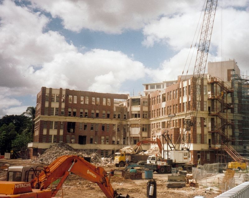 2002 Royal Womens demolition