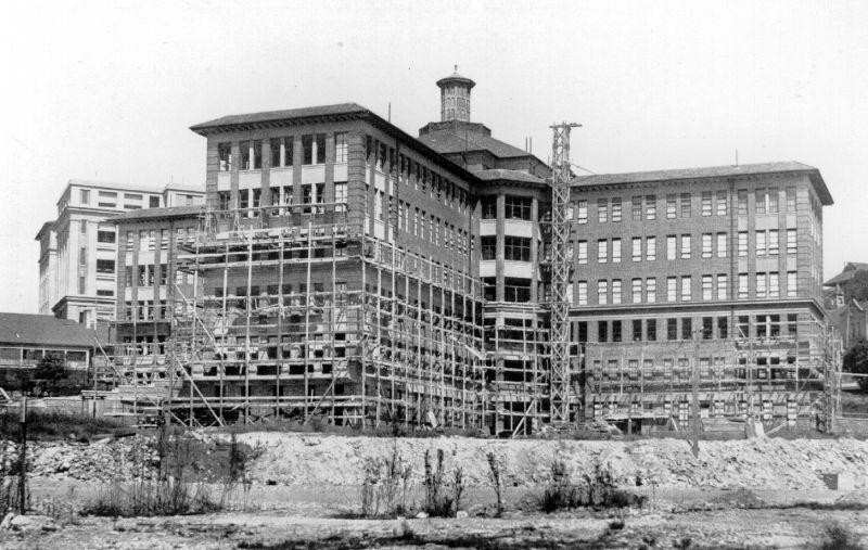 1936 Womens Hospital construction