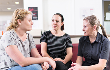 Women in counselling group