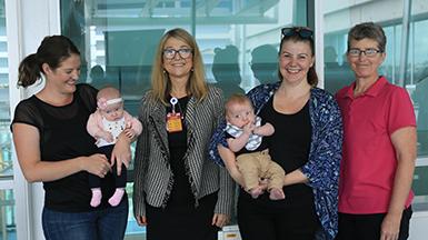 Queensland Milk Bank celebrates its 5th birthday