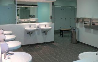 RBWH Cycle Centre - sinks
