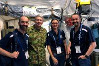 RBWH Doctors visit Talisman Sabre military exercise