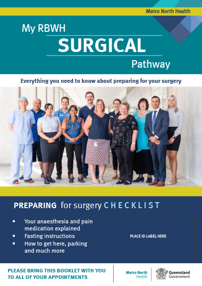RBWH My Surgical Pathwayguide