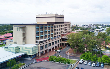 Redcliffe Hospital exterior