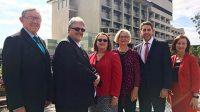 MNHHS executives at Redcliffe carpark