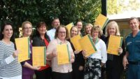 Metro North, Brisbane North PHN and QAS partners coming together to launch the refreshed Yellow Envelope at Redcliffe Hospital!