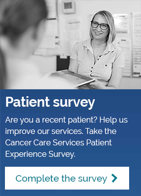 Cancer Care Services Patient Experience Survey