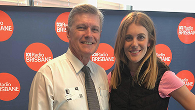 Director of Children's Oral Health Services Dr Bruce Newman joined Katherine Feeney on ABC 612 Brisbane