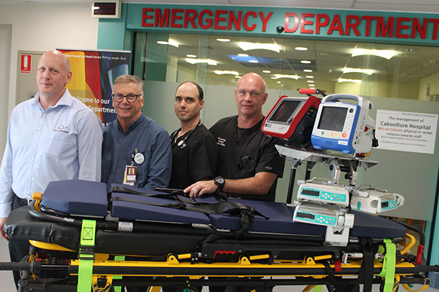New transport stretcher a major step forward for critical care patients
