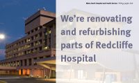 Redcliffe Hospital renovation and refurbishment