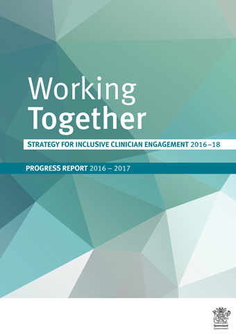 Strategy for inclusive clinician engagement 2016–18