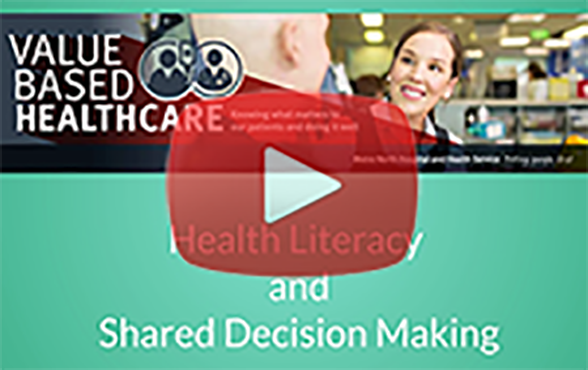 Health Literacy and Shared Decision Making