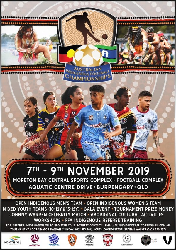 Australian Indigenous Football Championships 2019 poster