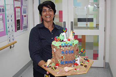 TPCH Kitchen Supervisor Joan Fernandes