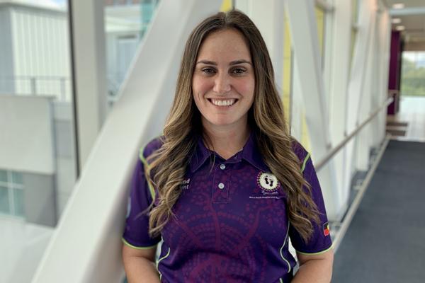 Royal Brisbane and Women's Hospital Midwife Sonita Giudice's