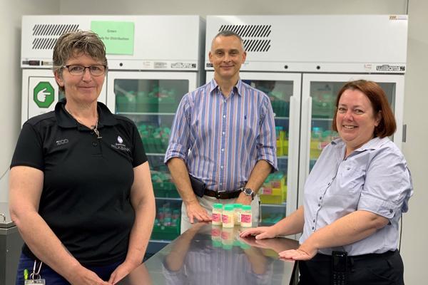 Queensland Milk Bank Team