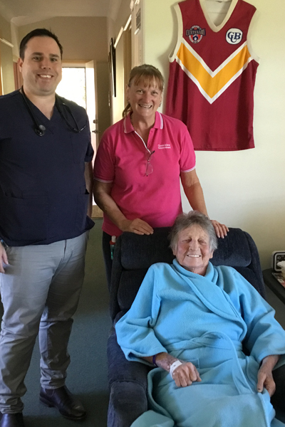 Community trial to enhance care of the older person